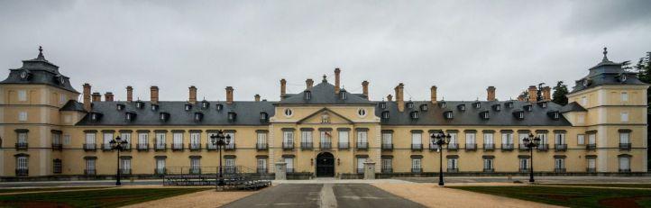 Entrada principal del Palacio de El Pardo, construida en el s. XVIII.