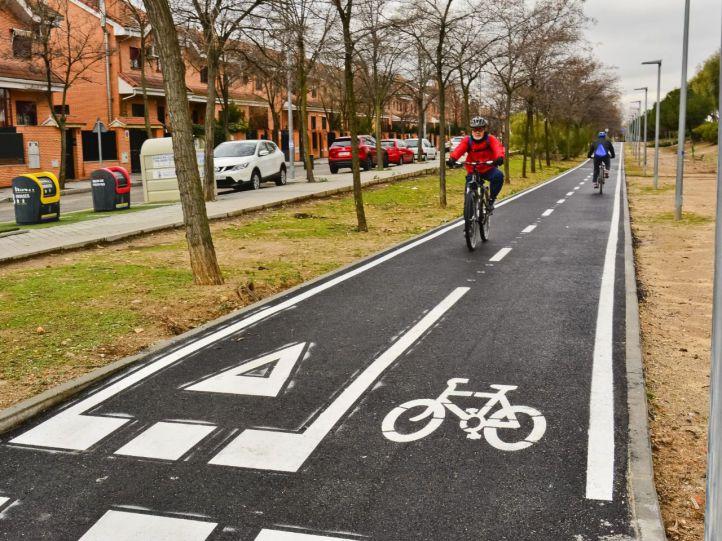 El nuevo Anillo Ciclista de Torrejón, a punto