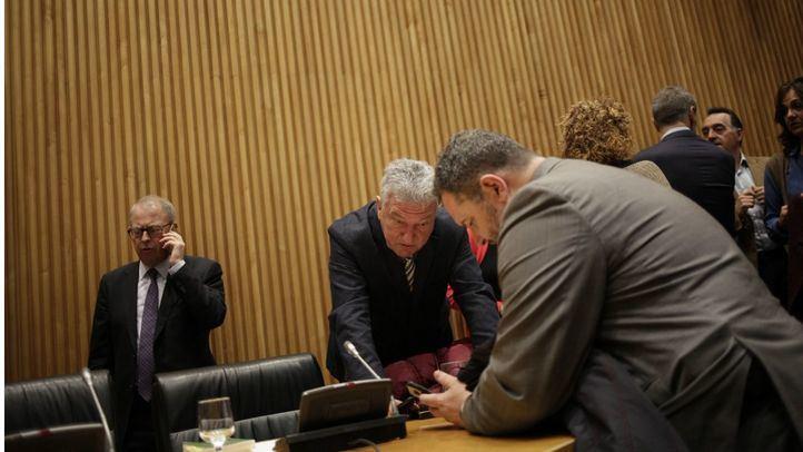 Pedro Quevedo, presidente de la Comisión de Investigación relativa a la presunta financiación ilegal del Partido Popular