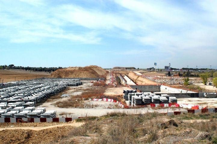 Obras del tren de Cercanías a Navalcarnero