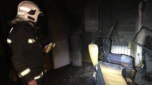 Un fuego en Titulcia acaba con la vida de un hombre
