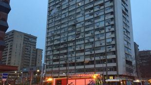 Un centenar de viviendas, desalojadas por un incendio