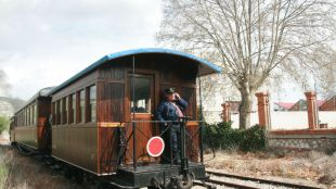 El tren de vapor de Arganda regresa a partir del 24