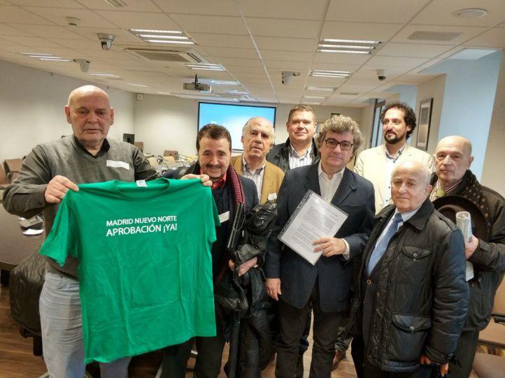 Decenas de colectivos piden al Ayuntamiento que cumpla con Madrid Nuevo Norte