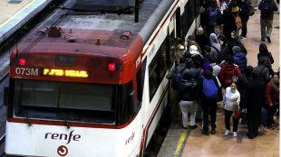 Suspendido el servicio de Cercanías entre Chamartín y Pinar de las Rozas