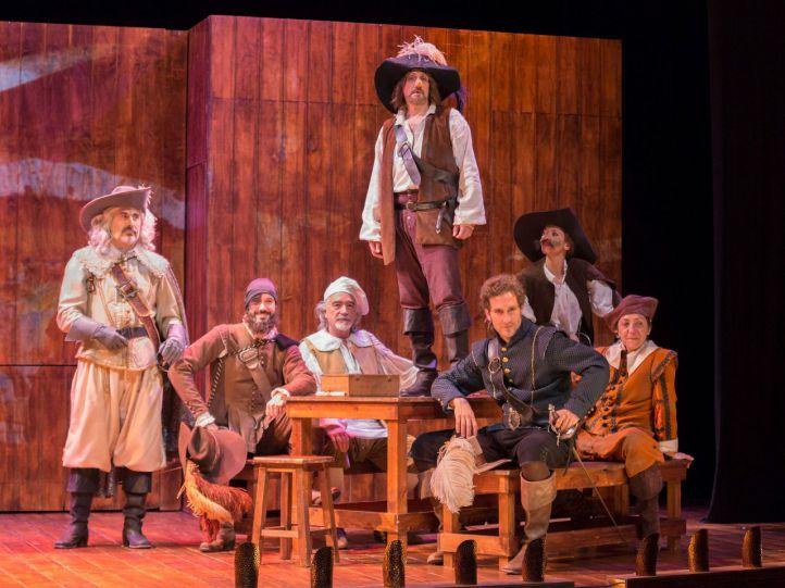 Una escena de 'Cyrano de Bergerac'.