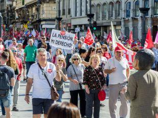 La Comisión 8-M se manifestará junto a los pensionistas