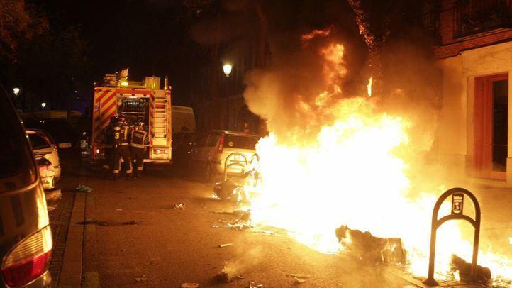 Veinte personas heridas y seis detenidos en los disturbios