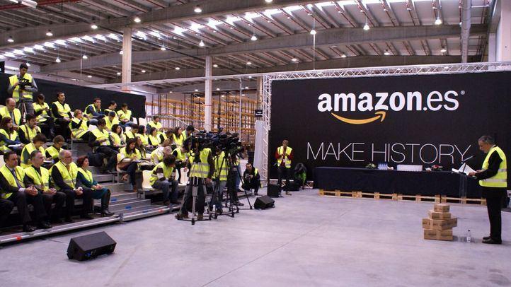 Amazon, centro logístico para España, en San Fernando de Henares