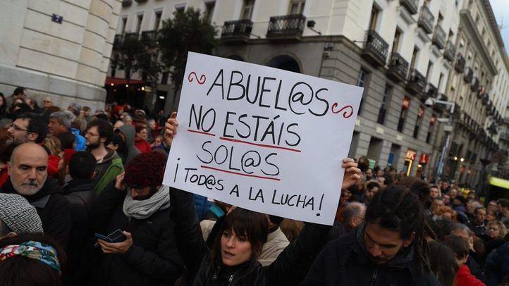Manifestación en Madrid por unas 'pensiones dignas'