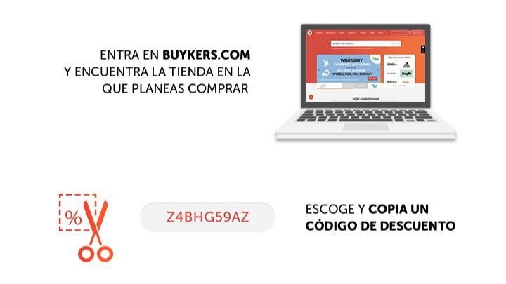Comprar por internet aprovechando los descuentos de Buykers