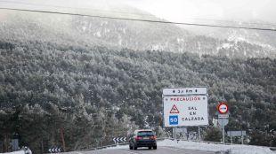 El temporal regresa a la Sierra con nevadas y fuertes vientos