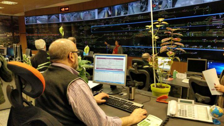 Once 'controladores' vigilan la hora punta de Cercanías