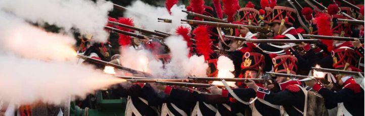 Recreación de ¡¡Que se los llevan!! del Dos de Mayo de 1808 en Madrid: Los sucesos de la Plaza de Oriente por la Asociación Histórico Cultural Voluntarios de Madrid 1808-1814.