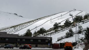 Estación de esquí de Valdesquí.