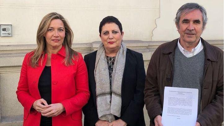 Susana Solís, Mercedes Gallizo y Eduardo Gutiérrez Benito.