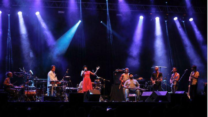 Concierto del grupo Bokanté en una de las ediciones del festival Noches del Botánico.