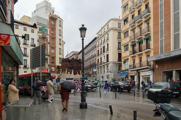 Plaza de Antón Martín.