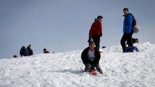 Foto de archivo de la Sierra nevada