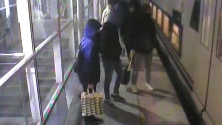 Grafiteros detenidos.
