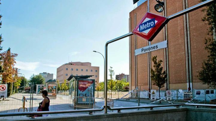 Imagen de archivo de la estación de Metro Pavones.