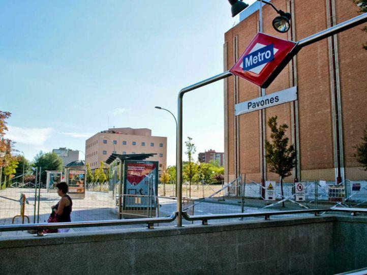 Un 'envejecido' Moratalaz, sin ascensores en Metro