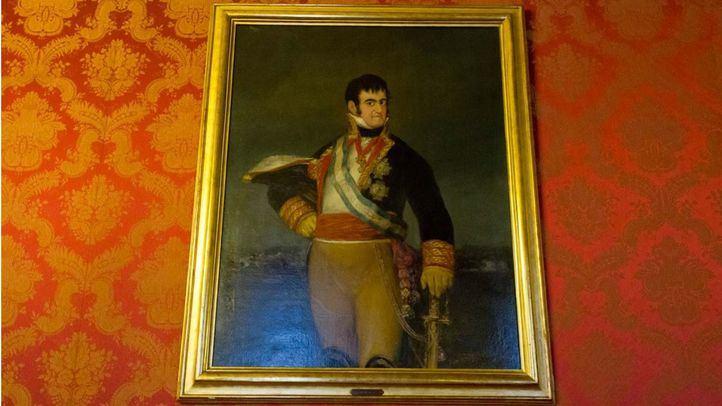Cuadrio de Goya de Fernando VII.