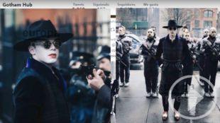 Primeras imágenes del Joker en Gotham