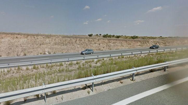 Kilómetro 56 de la Autovía A-5 (Santa Cruz de Retamar)