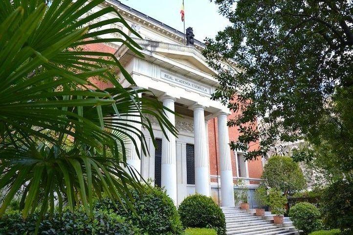 Edificio sede de la Real Academia Española.