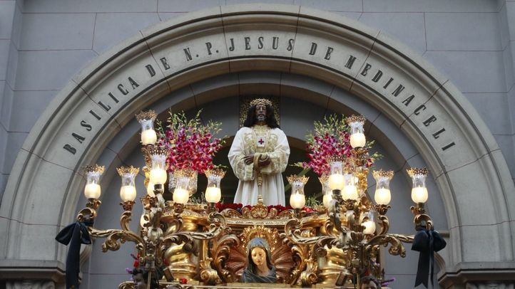 Imagen de archivo de la procesión de Jesús de Medinaceli.