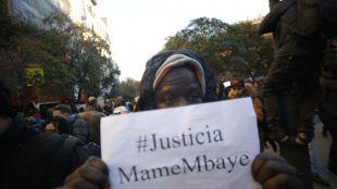 Mame Mbaye, enterrado en su ciudad natal