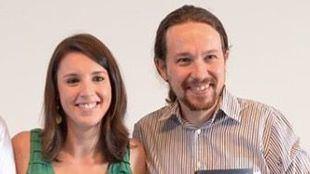 Pablo Iglesias e Irene Montero esperan mellizos