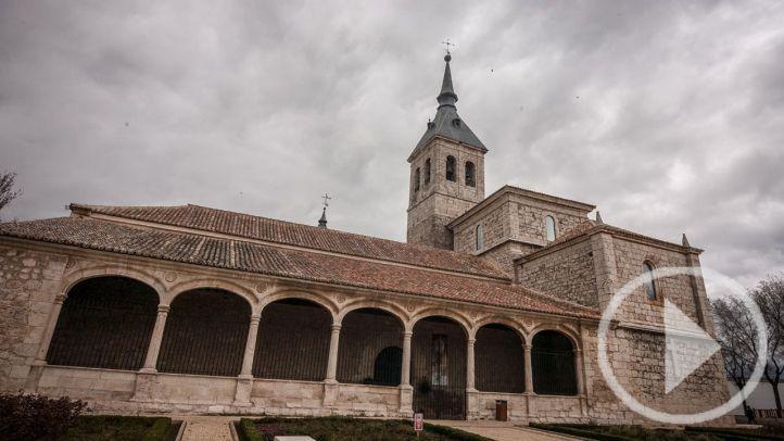 Torres de la Alameda expone una copia de la Sábana Santa