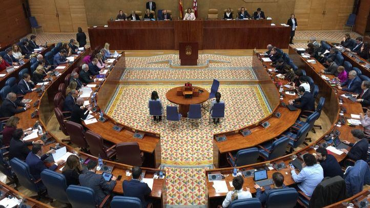 Imagen de archivo de la Asamblea de Madrid