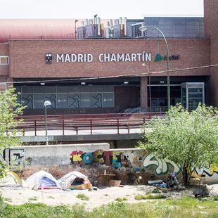 Chamartín, una de las estaciones más concurridas