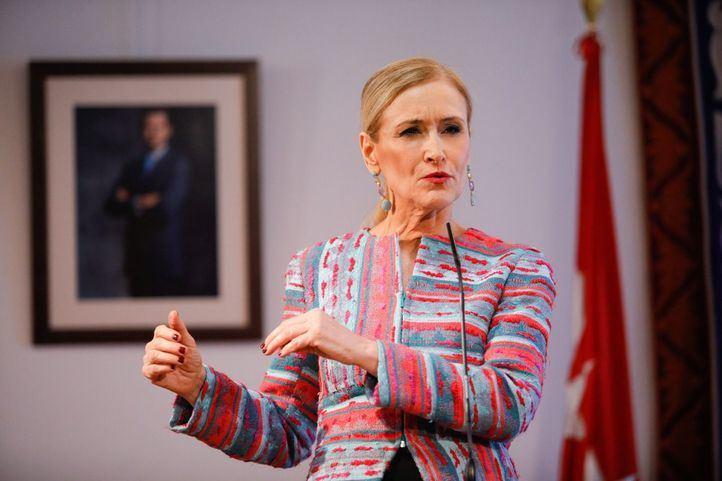 La presidenta, ante la prensa: 'Jamás me he planteado dimitir'