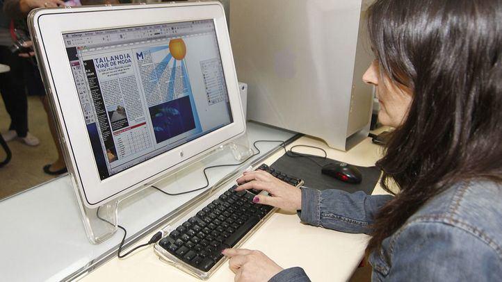 Imagen de archivo de una estudiante de Formación Profesional.