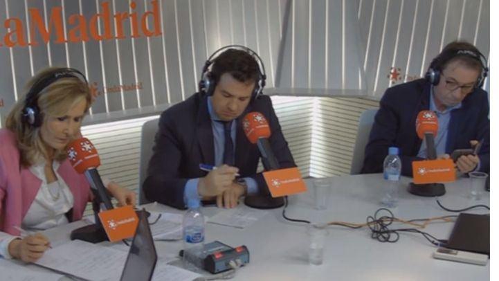 José de la Uz y Jaime Cedrún en Com.Permiso.