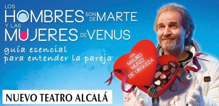 ¿Quiere ver Los Hombres son de Marte y las mujeres de Venus?
