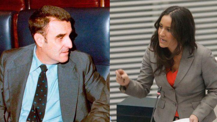 Rodriguez Sahagún y Villacís. Collage elaborado a partir de una foto cedida por el Gobierno de España y una fotografía hecha por Kike Rincón.