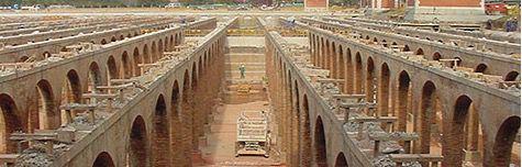 Trescientos obreros, sepultados bajo el tercer depósito del Canal