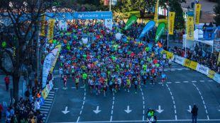 Más de 20.000 corredores en la Medio Maratón