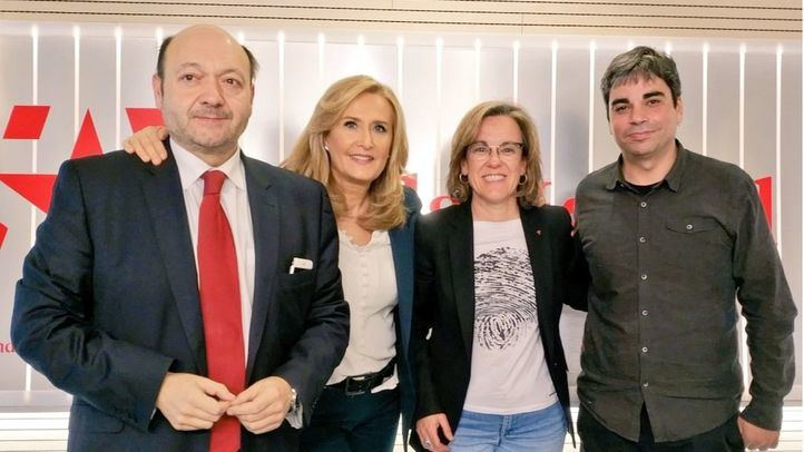 Purificación Causapié y Jorge García Castaño, en Com.Permiso.