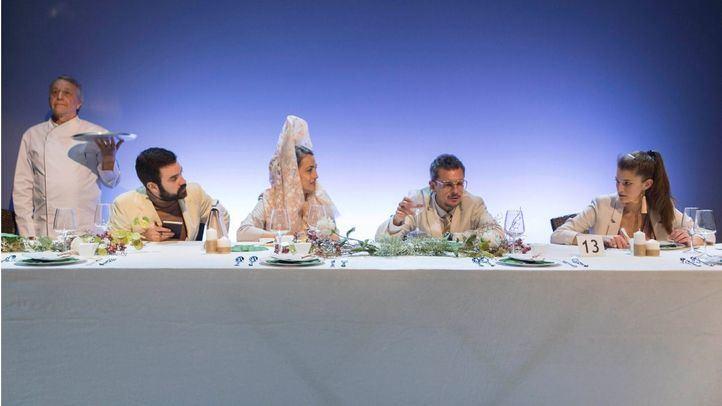 La boda de tus muertos, de Pablo Canosales, en el Teatro Luchana.