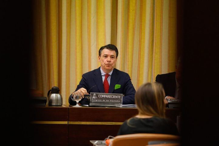 El expresidente de la Comunidad de Madrid, Ignacio González, comparece ante la comisión de investigación de la financiación de los partidos políticos del Congreso de los Diputados.