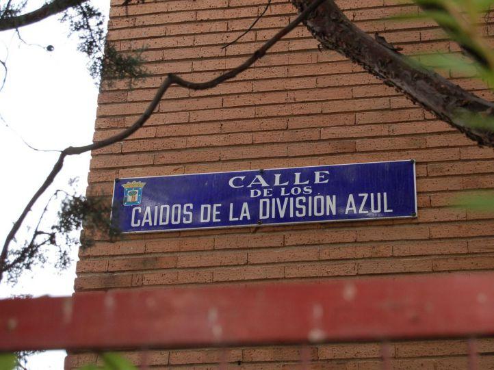 Calle Caídos de la División Azul.