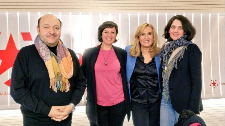 Elena Sevillano y Pilar Sánchez Acera, en Com.Permiso.