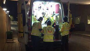 Los servicios de emergencias Madrid, en una imagen de archivo.