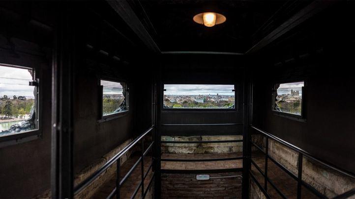 Vistas desde la torre mirador de El Retiro.